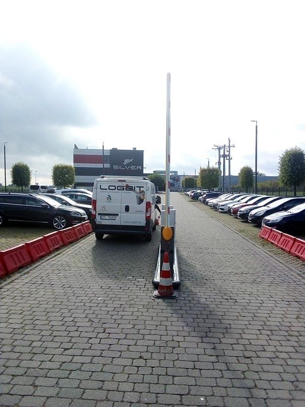 System parkingowy LPS w Silver hotel Szczecin edit