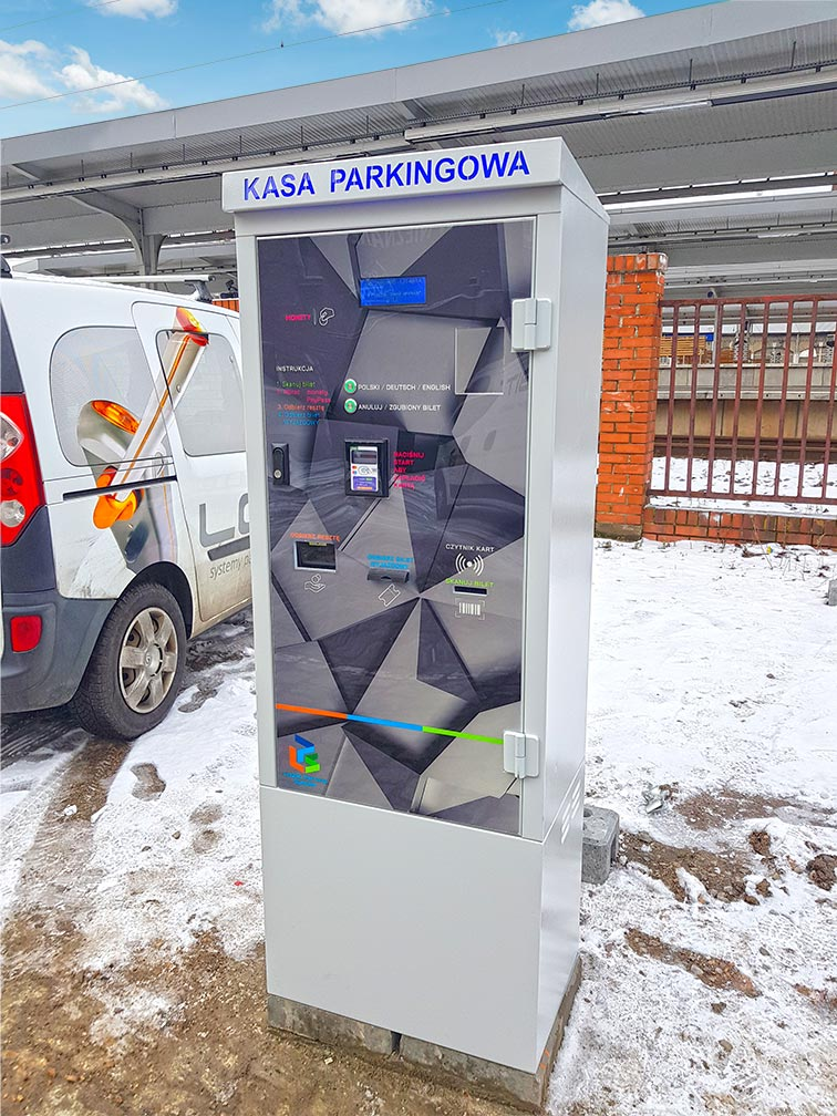 Kasa parkingowa LPS
